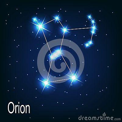 WINTER orion | star constellations | Pinterest