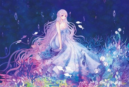 Anime Mermaid | Princess Of The Sea