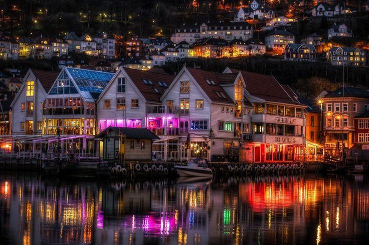 Restaurantul Fjord Fusion din Zachariasbryggen