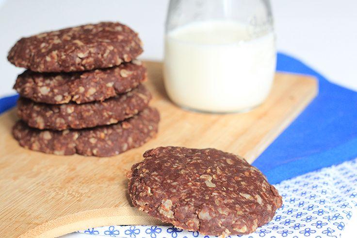 FOOD: No bake chocoladekoekjes