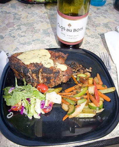 Fine Wilderness Cuisine  Middle Fork Salmon River 7/09  http://www.shastatrout.com/