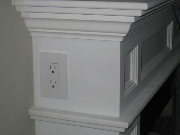 If you're building a home, or just building a fireplace mantle, this is an idea to keep in mind. by David Rochelle