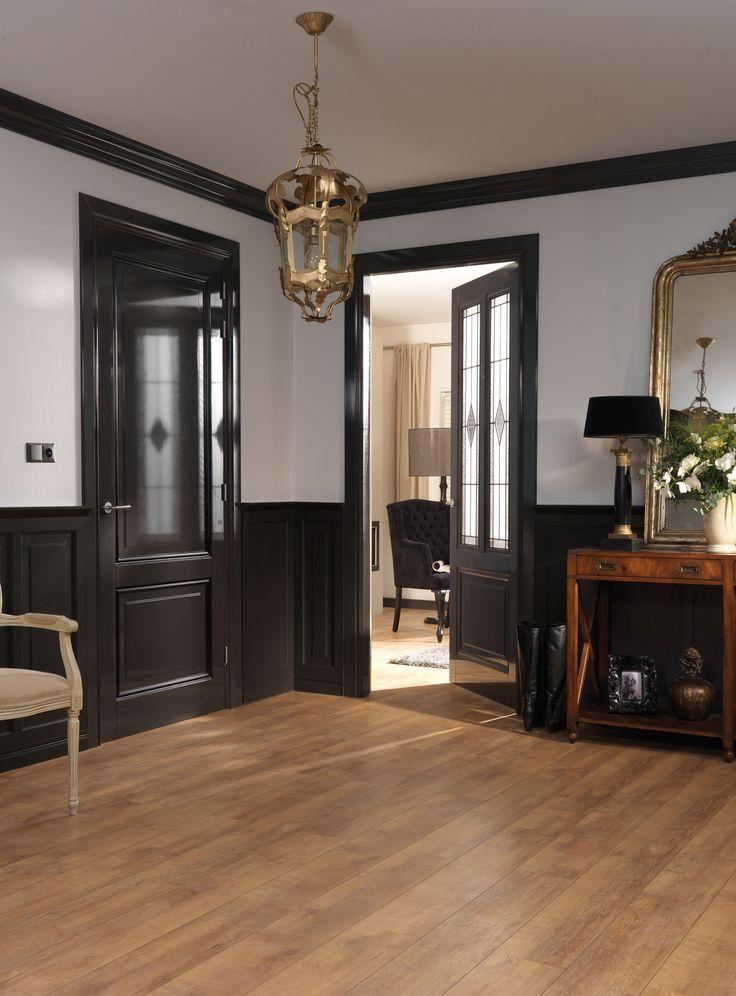 Ander soort deur maar voor de deuren boven antraciet zwart kiezen home ideas pinterest - Kleur binnendeuren ...