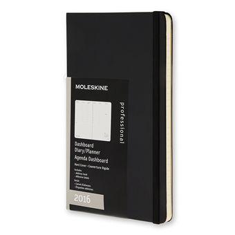 Moleskine Dashboard Weekagenda 2016 Hardcover