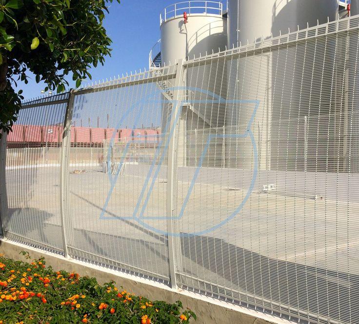 Cerramiento TUPIFOR Curvo (Alta seguridad). Indusmetal Torres