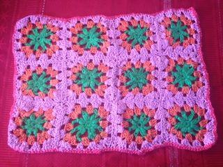 Mantel de centro tejido a crochet $6mil pesos