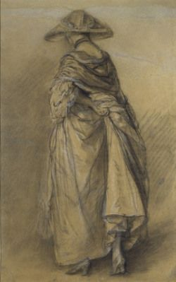 Exhibition | Master Drawings, Ashmolean Museum, Oxford, 25 May — 18 August 2013. http://enfilade18thc.wordpress.com/2013/06/24/exhibition-master-drawings/. Image: Thomas Gainsborough, Study of a Woman, seen from the back, chalk and stump on paper, 1760-70