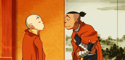 sokka and aang funny moment... LOL trying to be sophisticated isn't all THAT hard XD clearly..... LOL!!!!!!!!