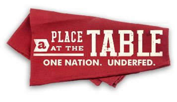 """""""A Place At The Table - One Nation. Underfed."""" New documentary on hunger in the US released today. Available On Demand and iTunes."""
