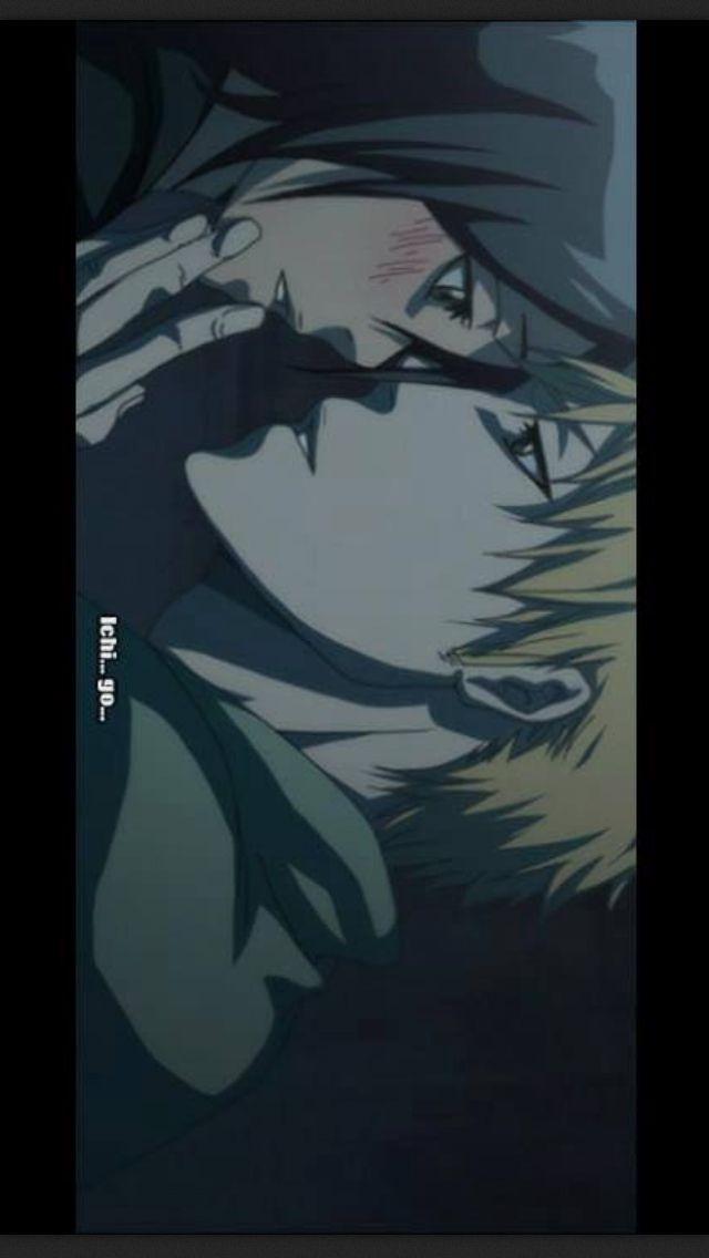 ichigo and rukia kiss - photo #17