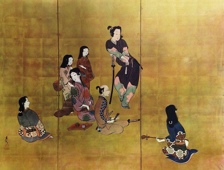 Zeshin Samurai Collotype Asian Fine Art Print — Old and rare  Collotype Prints  #rareprints   #asianart #wallart