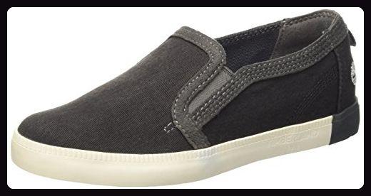 Timberland Newport Bay_Newport Bay Canvas Slip O, Damen Sneakers, Schwarz (Black), 41 EU - Sneakers für frauen (*Partner-Link)