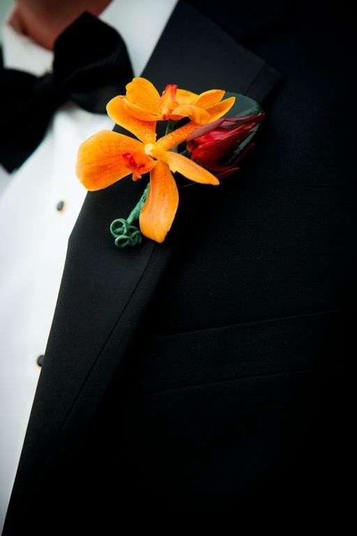 Boutonniere for the color-lovers amongst us! Photography by lifefusion.com, Floral Design by jerifloraldesign.com