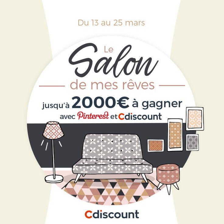 54 best Le salon de mes rêves Cdiscount ❤ images on Pinterest