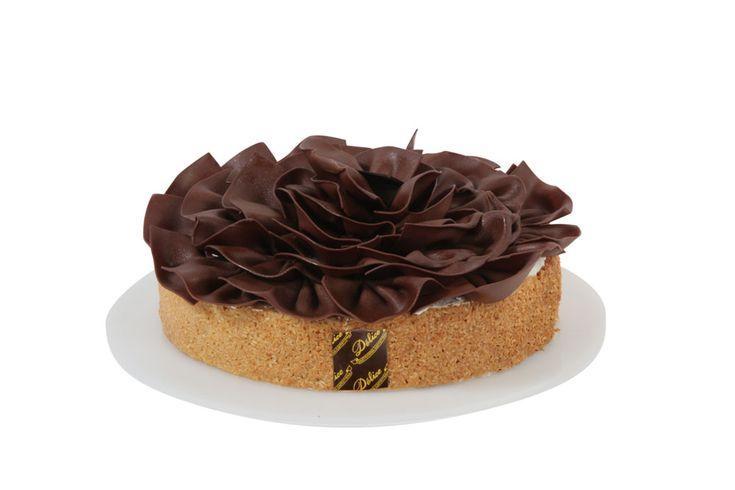 #delice. Deliziosa crema al cocco e cioccolato fondente su #savoiardo e croccante al #cocco.