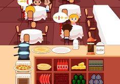 Gateste si Serveste Pizza la Rstaurant