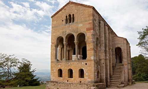 Monumentos de Oviedo y del reino de Asturias, España