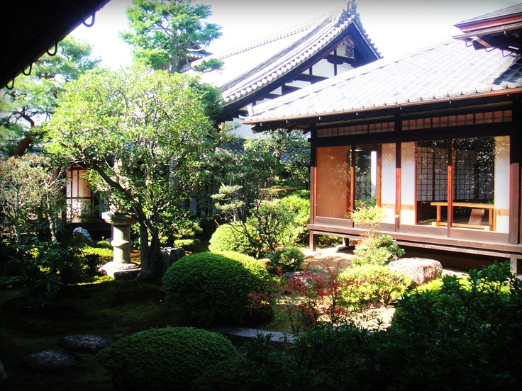 Chisyaku-in Temple, Garden