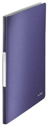 Prezentační desky A4 Leitz Style - 20 kapes / titanově modrá