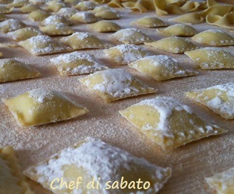 Ravioli con asparagi e ricotta - CHEF DI SABATO