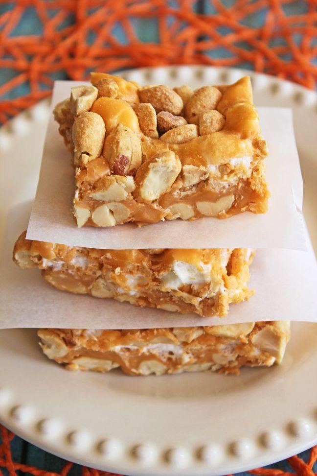 salted nut bars jamie cooks it up