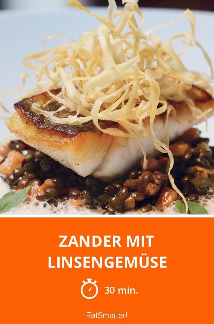 Zander mit Linsengemüse - smarter - Zeit: 30 Min.   eatsmarter.de