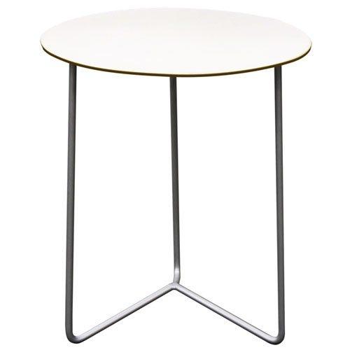 High Tech bord varmegalvanisert, hvit plate Grythyttan Stålmöbler - Kjøp møbler online på ROOM21.no