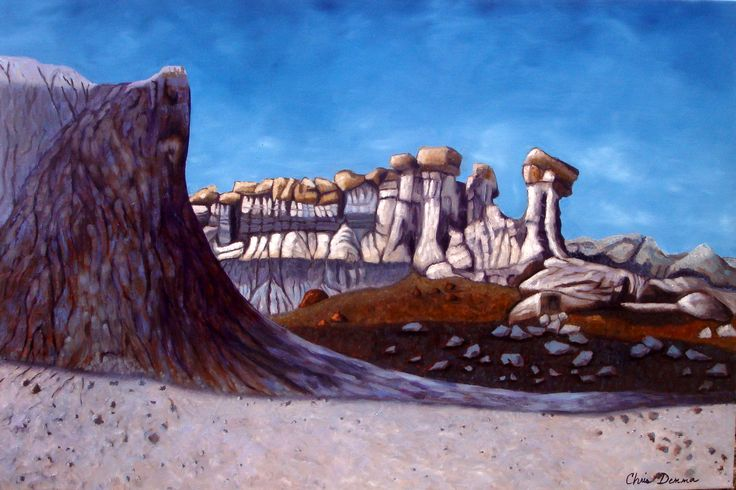 HooDoo Canyon  24 x 36 oil  Available