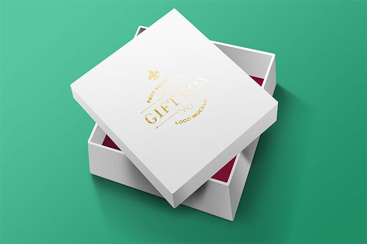 Download Realistic Free Psd Gift Box Mockup Box Mockup Psd Template Free Packaging Mockup