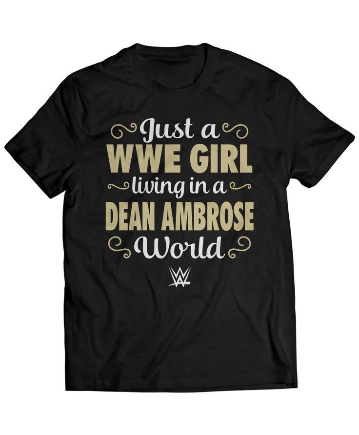 Dean Ambrose - WWE Girl Living In A Dean Ambrose World