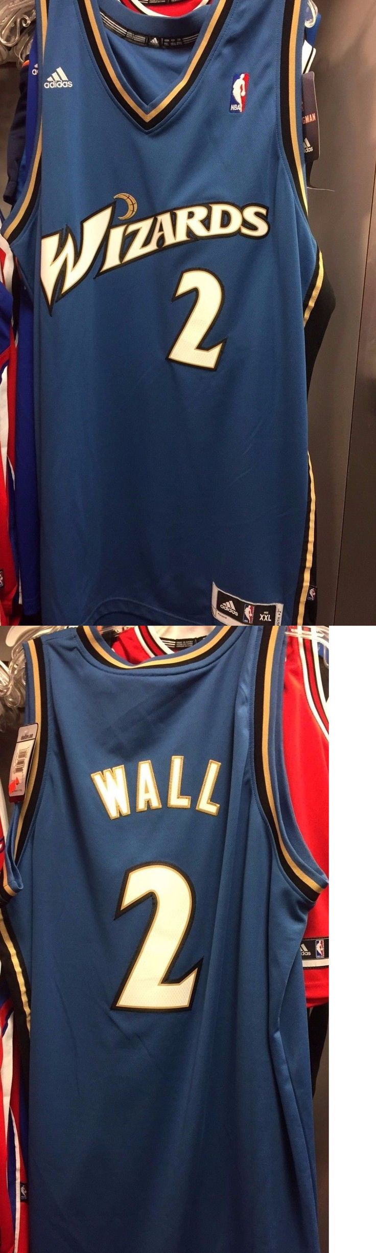Basketball-NBA 24442: Nba Adidas Swingman Jersey Washington Wizards John Wall -> BUY IT NOW ONLY: $44.99 on eBay!
