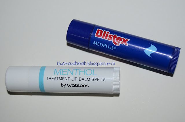 Berrak Kaçan: Blistex MedPlus vs. Watsons Menthol Treatment Lip ...