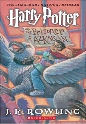 Harry Potter and the Prisoner of Azkaban (Harry Potter #3) by J.K. Rowling... My favorite hp book