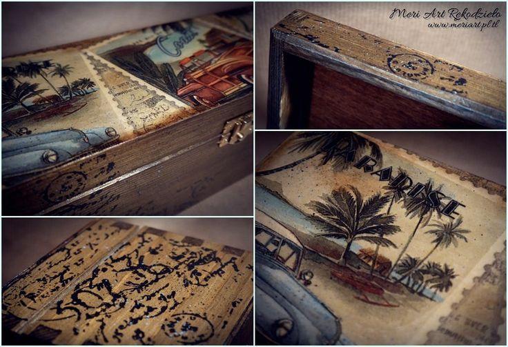 Handmade wooden box for bottle of vodka, gift for men :)