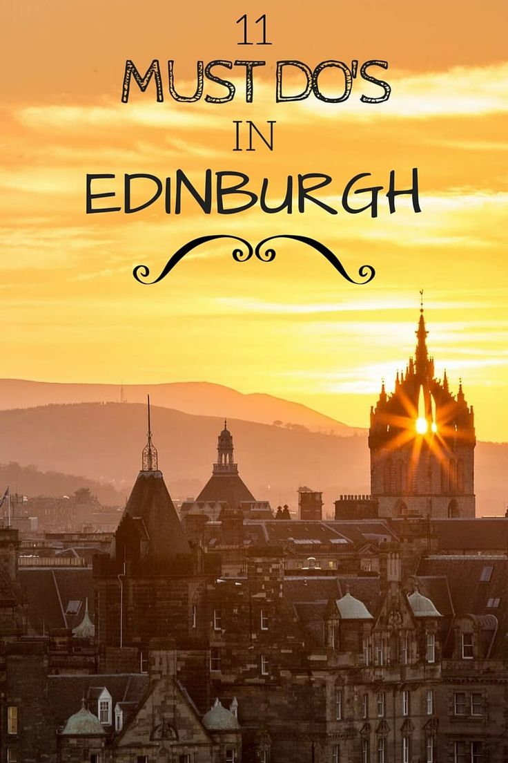 11 fun things to do for a weekend in Edinburgh, Scotland, plus ideas on accommodation, getting here and away, when to visit, and more!