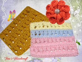 Tina's handicraft : video tutorial - crochet stitch No 30
