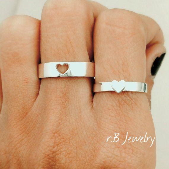 Promesa de los anillos anillos de promesa para por JewelryRB