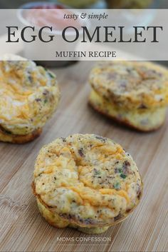 Looking for easy breakfast meal ideas? This muffin tin omelets recipe is the answer! These omelets in muffin tins are great on the go and back to school.