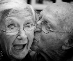 Kissing is for old people too