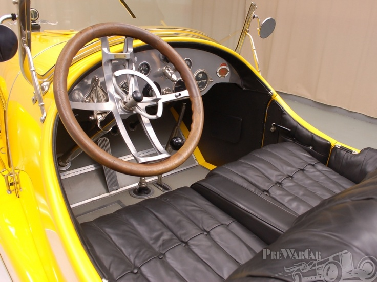 1920 Kissel Gold Bug Speedster dash...looks like maybe a ...