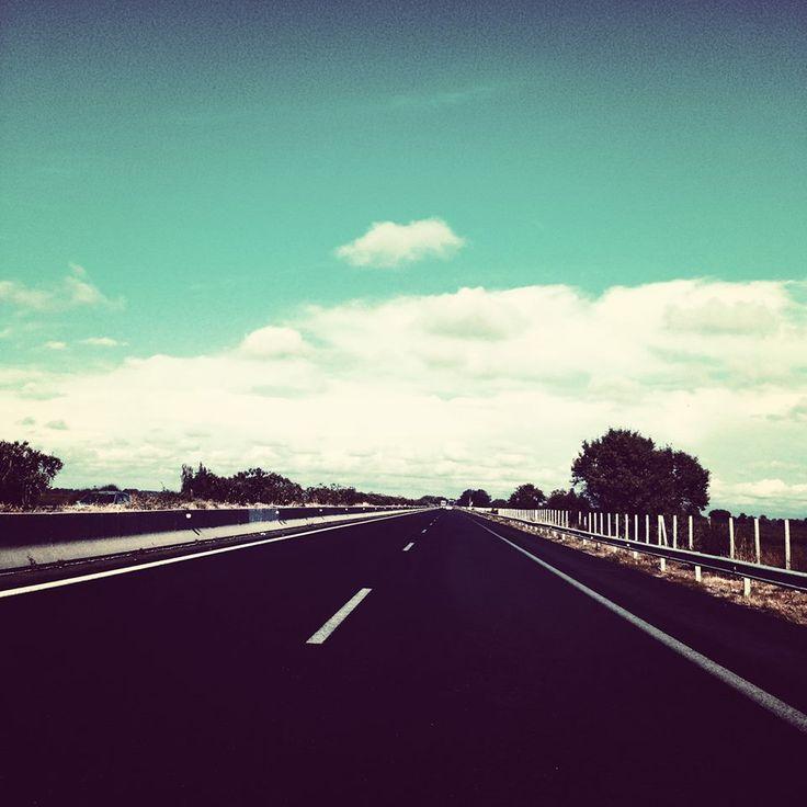 Ο δρόμος της επιστροφής ή ... της αναχώρησης; #arive #photo #24_01_2014 #road http://ow.ly/sTZZE