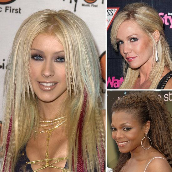 Crimped hair  The Best Of The Worst 90's Beauty Trends • BoredBug