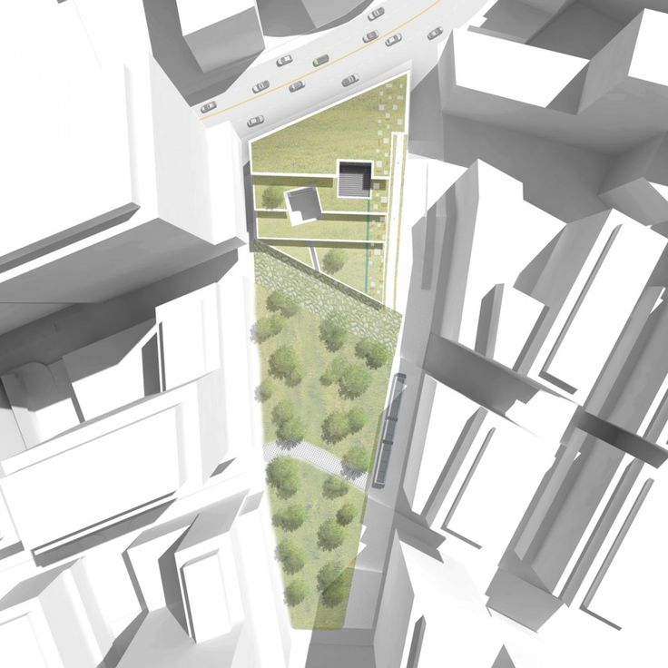 Green Square Library & Plaza Design Competition Entry - Hyunjoon Yoo Architects