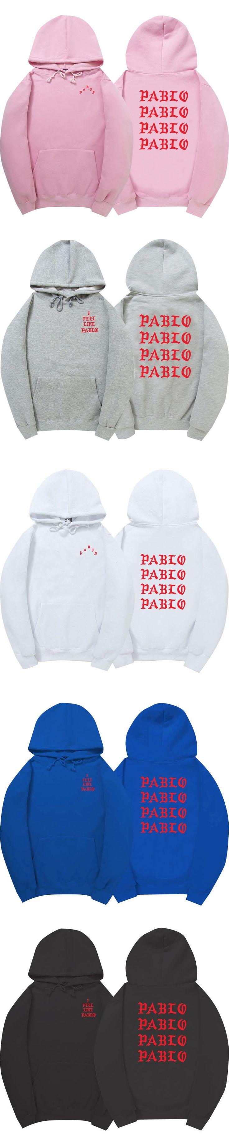 The Life Of Pablo Kanye West Pablo Hoodie Men/Women Hip Hop Pull Paris Opening Saint Pablo I Feel Like Paul Sweatshirts