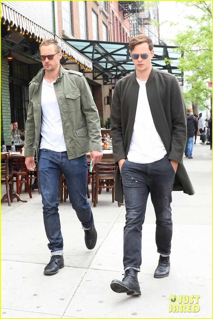 Brothers Alexander & Bill Skarsgard Spend Time Together Ahead of Met Gala 2017!