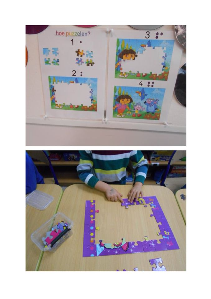 Puzzelhoek - Stappenplan puzzelen