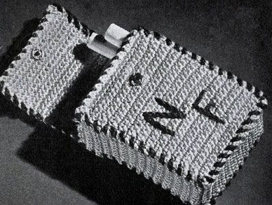 Cigarette Case Crochet Pattern From Ideas For Gifts