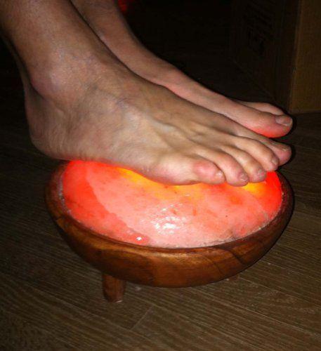 Foot Detox Pure Himalayan Salt Lamp FDA#: 15073930442