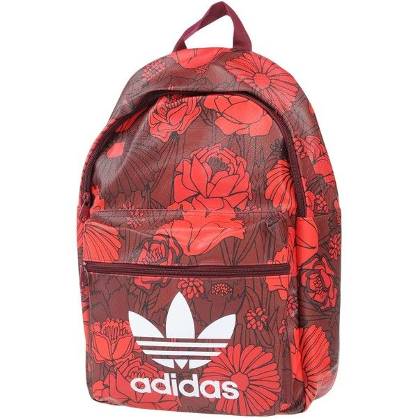 Adidas Originals Backpacks & Bum Bags (205 RON) ❤ liked on Polyvore featuring bags, red, bum bags, handle bag, zip bag, fanny bag and adidas originals backpack
