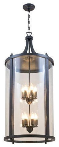 LARGE OUTDOOR LANTERN W/CLEAR GLASS :: CEILING MOUNTED & CHAIN HUNG :: Ceiling lights Toronto, Bath and vanity lighting, Chandelier lighting, Outdoor lighting and kitchen lights :: Union